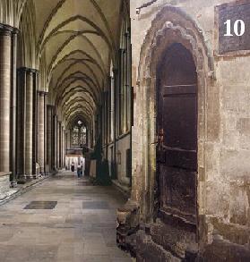 Luokka numero 10 oli myös ensimmäisessä kerroksessa. Yhdistetty kahdesta kuvasta.
